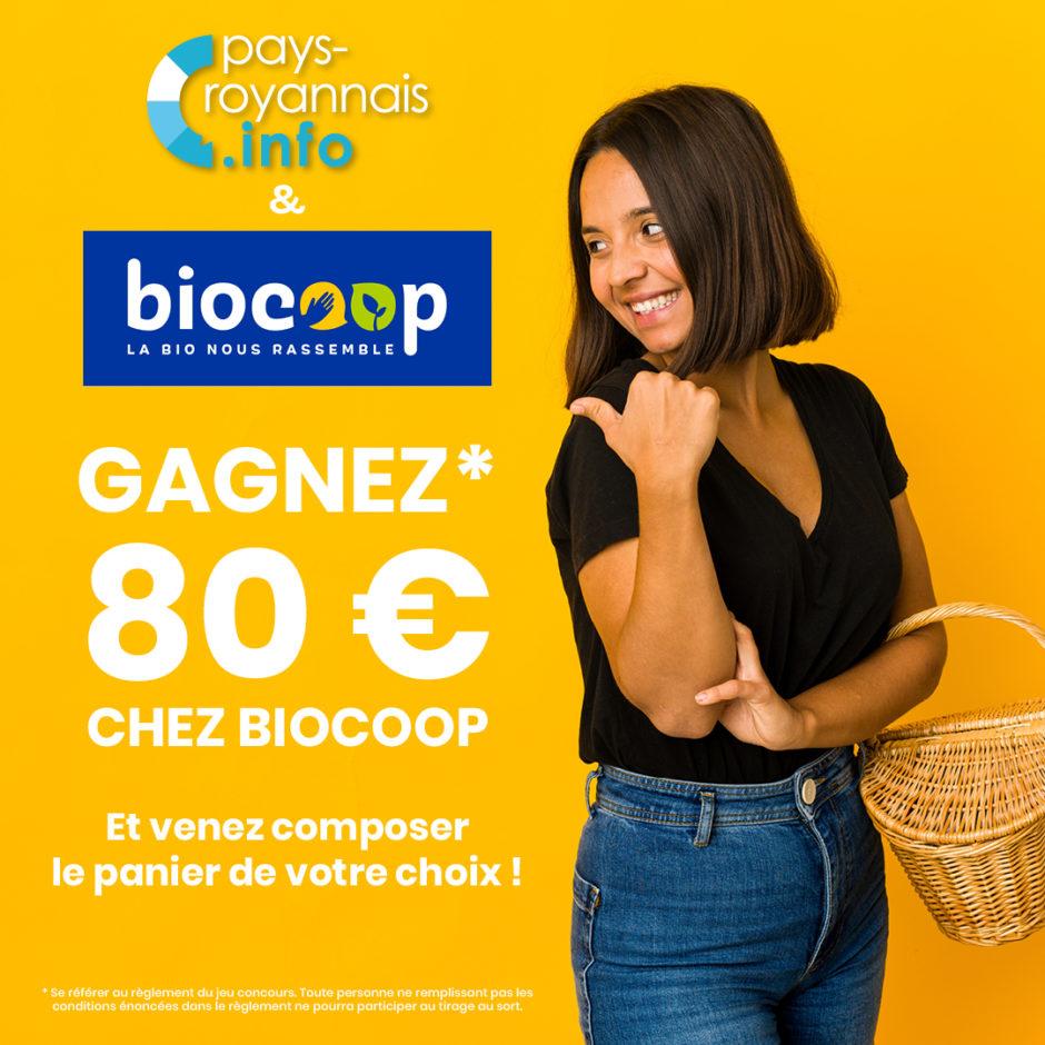 jeu concours biocoop pays roayannais royan